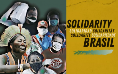 Call to action : Solidarity with Brazil: support movements on the COVID-19 frontlines