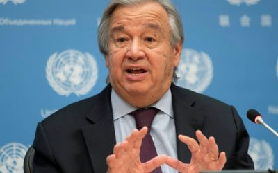 Rich failing to help fund poor countries' climate fight, warns UN secretary general